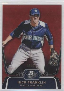 2012 Bowman Platinum - Prospects - Red Refractor #BPP54 - Nick Franklin /25