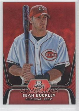 2012 Bowman Platinum - Prospects - Red Refractor #BPP75 - Sean Buckley /25