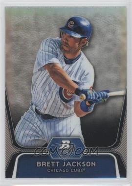 2012 Bowman Platinum - Prospects - Refractor #BPP19 - Brett Jackson