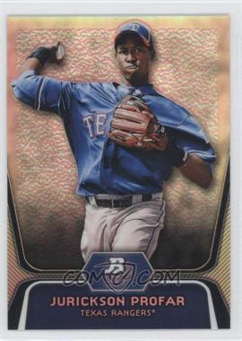 2012 Bowman Platinum - Prospects - Refractor #BPP35 - Jurickson Profar