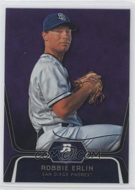 2012 Bowman Platinum - Prospects - Retail Purple Refractor #BPP11 - Robbie Erlin
