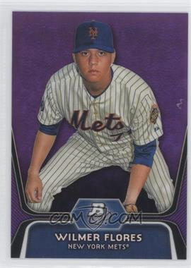 2012 Bowman Platinum - Prospects - Retail Purple Refractor #BPP12 - Wilmer Flores
