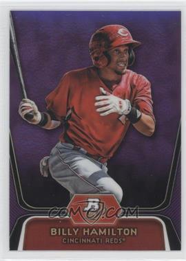 2012 Bowman Platinum - Prospects - Retail Purple Refractor #BPP16 - Billy Hamilton