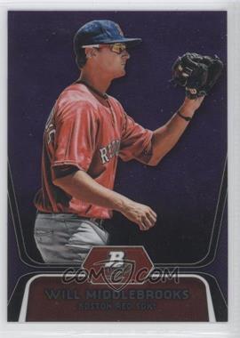 2012 Bowman Platinum - Prospects - Retail Purple Refractor #BPP26 - Will Middlebrooks
