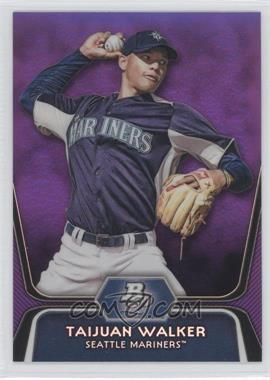 2012 Bowman Platinum - Prospects - Retail Purple Refractor #BPP46 - Taijuan Walker