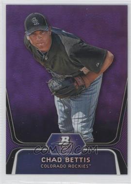 2012 Bowman Platinum - Prospects - Retail Purple Refractor #BPP5 - Chad Bettis