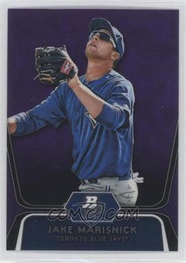 2012 Bowman Platinum - Prospects - Retail Purple Refractor #BPP53 - Jake Marisnick