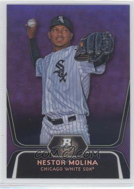 2012 Bowman Platinum - Prospects - Retail Purple Refractor #BPP55 - Nestor Molina