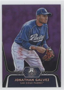 2012 Bowman Platinum - Prospects - Retail Purple Refractor #BPP58 - Jonathan Galvez