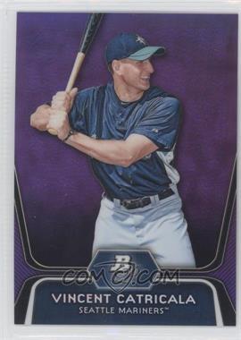 2012 Bowman Platinum - Prospects - Retail Purple Refractor #BPP59 - Vinnie Catricala