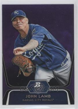 2012 Bowman Platinum - Prospects - Retail Purple Refractor #BPP63 - John Lamb