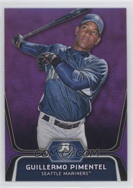 2012 Bowman Platinum - Prospects - Retail Purple Refractor #BPP83 - Guillermo Pimentel