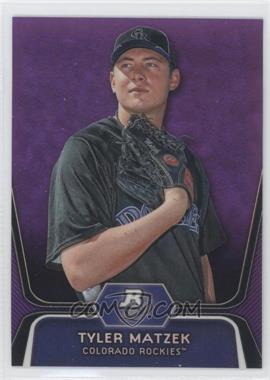 2012 Bowman Platinum - Prospects - Retail Purple Refractor #BPP84 - Tyler Matzek