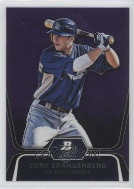 2012 Bowman Platinum - Prospects - Retail Purple Refractor #BPP86 - Cory Spangenberg