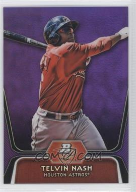 2012 Bowman Platinum - Prospects - Retail Purple Refractor #BPP89 - Telvin Nash