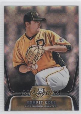 2012 Bowman Platinum - Prospects - X-Fractor #BPP69 - Gerrit Cole
