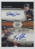 Joe Panik, Tommy Joseph /50
