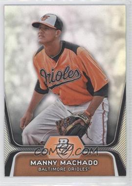 2012 Bowman Platinum - Prospects #BPP23 - Manny Machado
