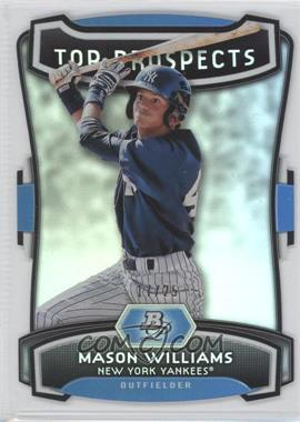 2012 Bowman Platinum - Top Prospects - Die-Cut #TP-MW - Mason Williams /25