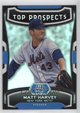 2012 Bowman Platinum - Top Prospects #TP-MH - Matt Harvey
