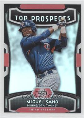 2012 Bowman Platinum - Top Prospects #TP-MS - Miguel Sano