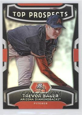 2012 Bowman Platinum - Top Prospects #TP-TB - Trevor Bauer