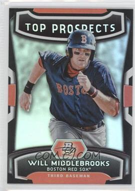 2012 Bowman Platinum - Top Prospects #TP-WMK - Will Middlebrooks