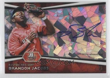 2012 Bowman Platinum Autographed Prospects Atomic Refractor #AP-BJ - Brandon Jacobs /5