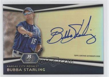2012 Bowman Platinum Autographed Prospects [Autographed] #AP-BS - Bubba Starling