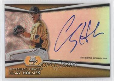 2012 Bowman Platinum Autographed Prospects [Autographed] #AP-CH - Clay Holmes