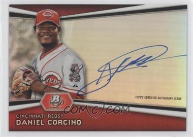 2012 Bowman Platinum Autographed Prospects [Autographed] #AP-DC - Daniel Corcino