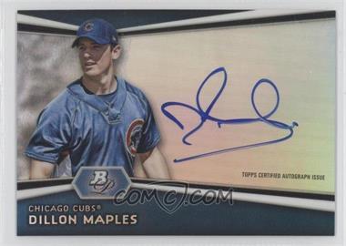 2012 Bowman Platinum Autographed Prospects [Autographed] #AP-DM - Dillon Maples