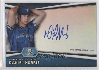 2012 Bowman Platinum Autographed Prospects [Autographed] #AP-DN - Daniel Norris