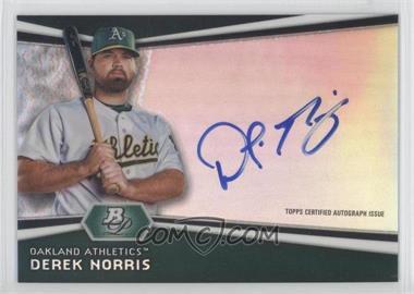 2012 Bowman Platinum Autographed Prospects [Autographed] #AP-DNO - Derek Norris