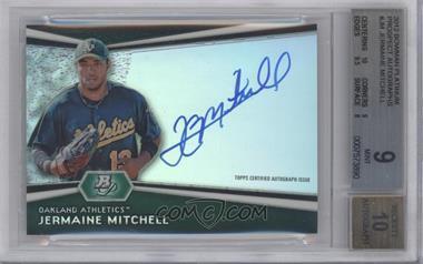 2012 Bowman Platinum Autographed Prospects [Autographed] #AP-JM - Jermaine Mitchell [BGS9]