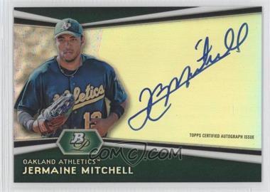 2012 Bowman Platinum Autographed Prospects [Autographed] #AP-JM - Jermaine Mitchell
