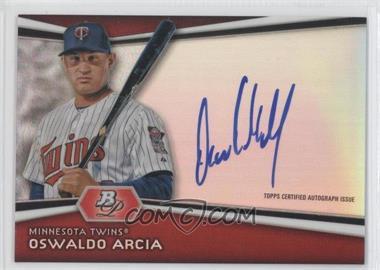 2012 Bowman Platinum Autographed Prospects [Autographed] #AP-OA - Oswaldo Arcia