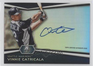 2012 Bowman Platinum Autographed Prospects [Autographed] #AP-VC - Vinnie Catricala