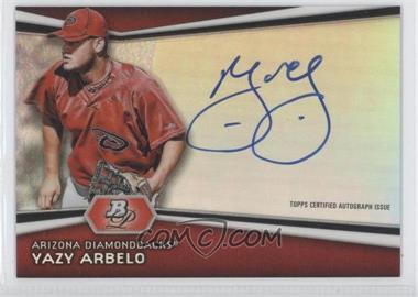 2012 Bowman Platinum Autographed Prospects [Autographed] #AP-YA - Yazy Arbelo