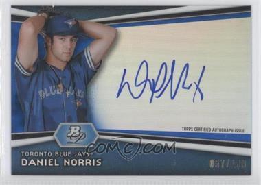 2012 Bowman Platinum Autographed Prospects Blue Refractor [Autographed] #AP-DN - Daniel Norris /199