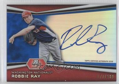 2012 Bowman Platinum Autographed Prospects Blue Refractor [Autographed] #AP-RR - Robbie Ray /199