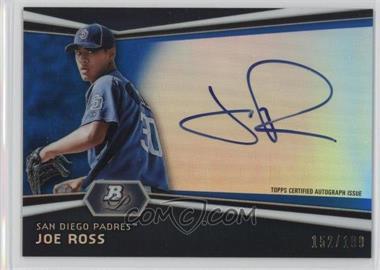 2012 Bowman Platinum Autographed Prospects Blue Refractor #AP-JR - Joe Ross /199
