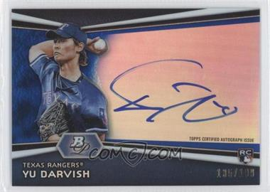 2012 Bowman Platinum Autographed Prospects Blue Refractor #AP-YD - Yu Darvish /199