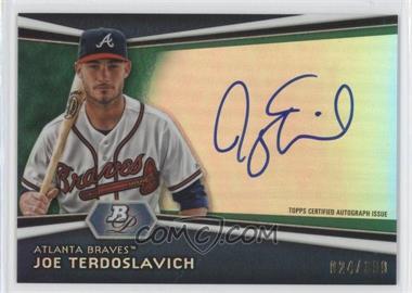 2012 Bowman Platinum Autographed Prospects Green Refractor #AP-JT - Joey Terdoslavich /399