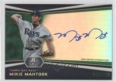 2012 Bowman Platinum Autographed Prospects Green Refractor #AP-MM - Mikie Mahtook /399