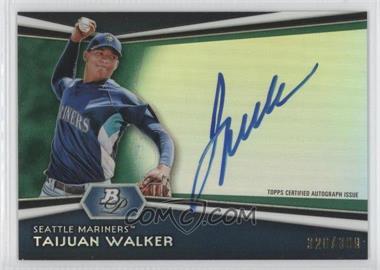 2012 Bowman Platinum Autographed Prospects Green Refractor #AP-TW - Taijuan Walker /399
