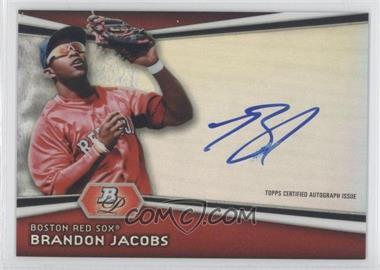 2012 Bowman Platinum Autographed Prospects #AP-BJ - Brandon Jacobs