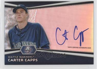 2012 Bowman Platinum Autographed Prospects #AP-CC - Carter Capps