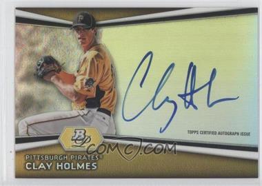 2012 Bowman Platinum Autographed Prospects #AP-CH - Clay Holmes