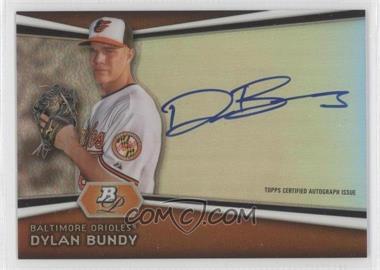 2012 Bowman Platinum Autographed Prospects #AP-DB - Dylan Bundy